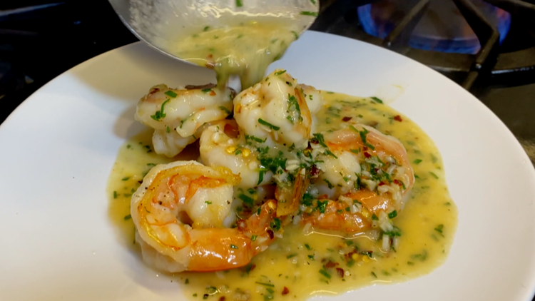 Cooking with Styles: Shrimp Scampi