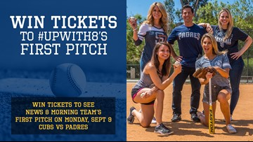 Win tickets to #UpWith8's first pitch
