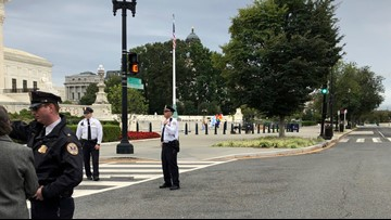2 suspicious packages found outside Supreme Court building