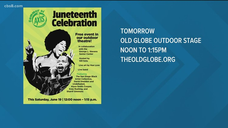 Fifth annual Juneteenth Old Globe event in San Diego