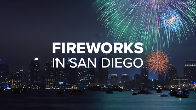 Here's where to watch San Diego fireworks this Fourth of July