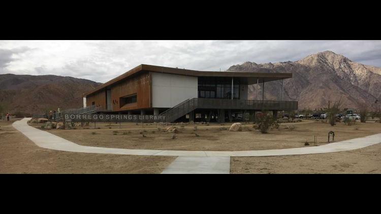New Borrego library