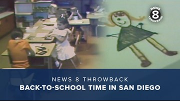 News 8 Throwback: Back-to-school time in San Diego