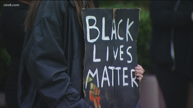 Minneapolis police shooting sparks protest in San Diego
