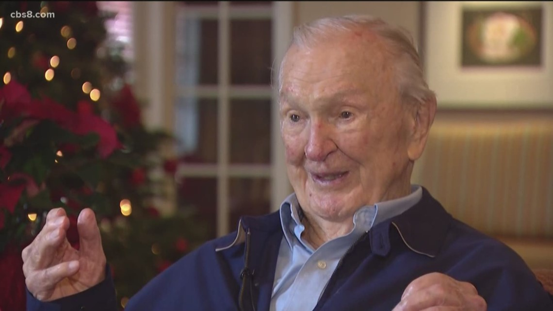 Oldest Pearl Harbor survivor honored in Solana Beach