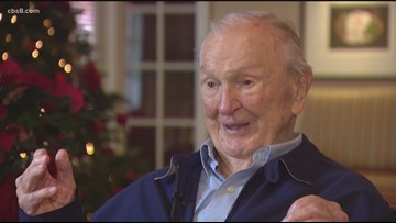 Oldest Pearl Harbor survivor being honored in Solana Beach