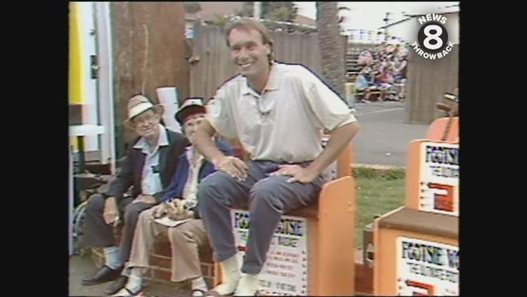 Larry Himmel at the Del Mar Fair 1990