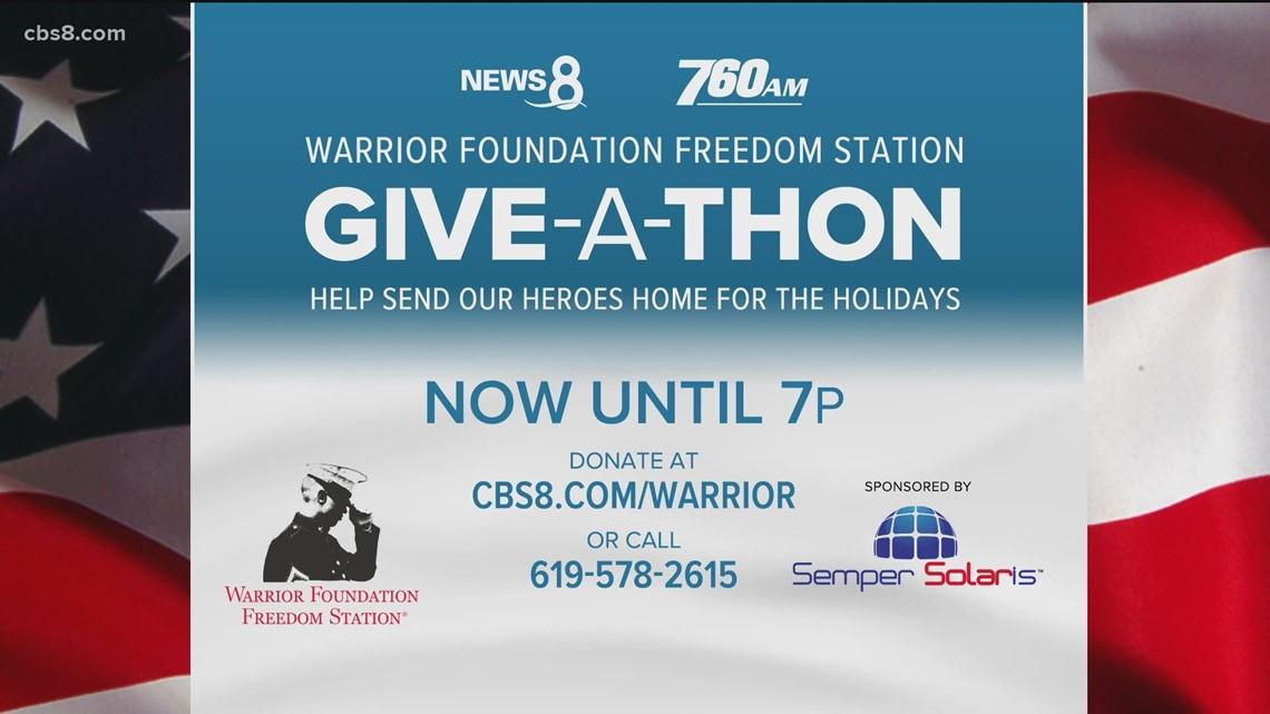 Warrior Foundation Freedom Station Giveathon   Nov 20, 2020