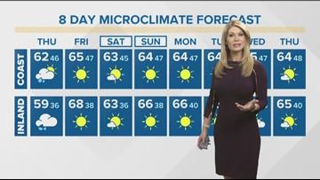 MicroClimate Forecast Thursday Jan. 9, 2020 (Morning)