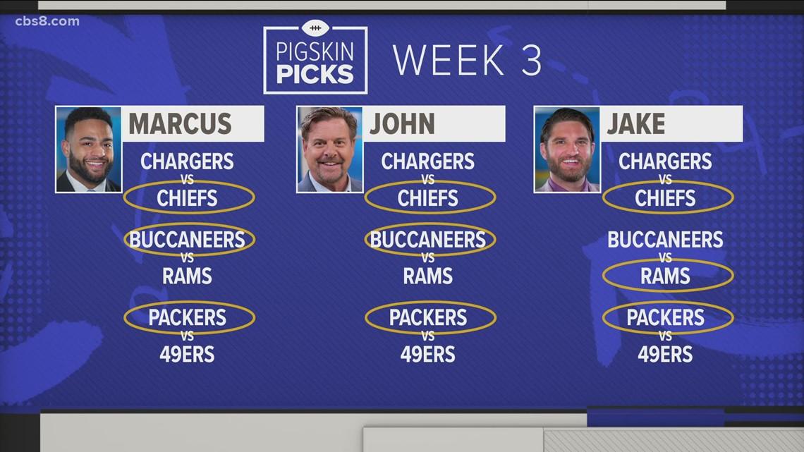 Pigskin Picks Week 2: Sports Team recap and picks for week 3