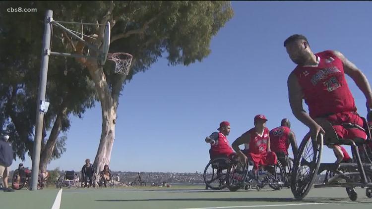 San Diego Wolfpack: Meet the veterans dominating wheelchair basketball
