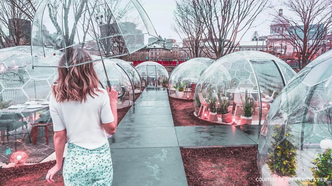 Dinner in a dome? Why this Canadian pop-up is coming to Liberty Station | cbs8.com