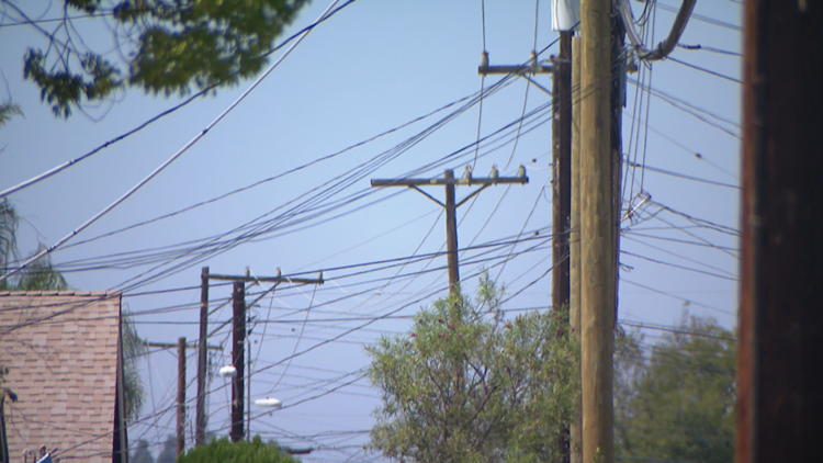 Pole Problems: Residents say AT&T adding to the clutter in San Carlos