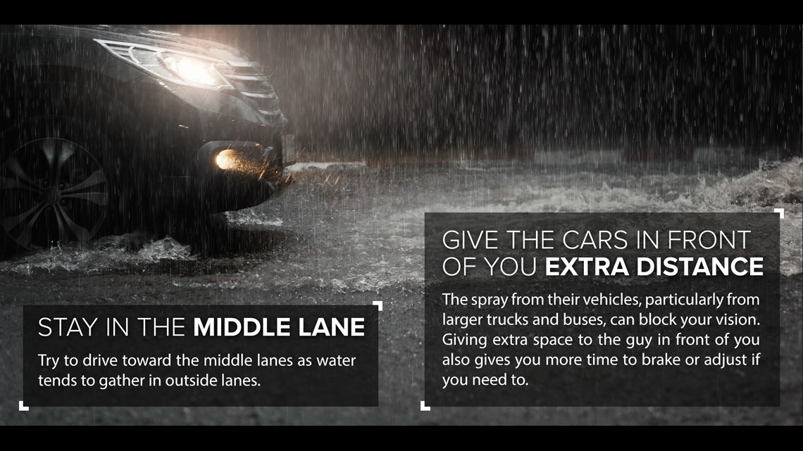 Your Safety Guide To Driving In The Rain