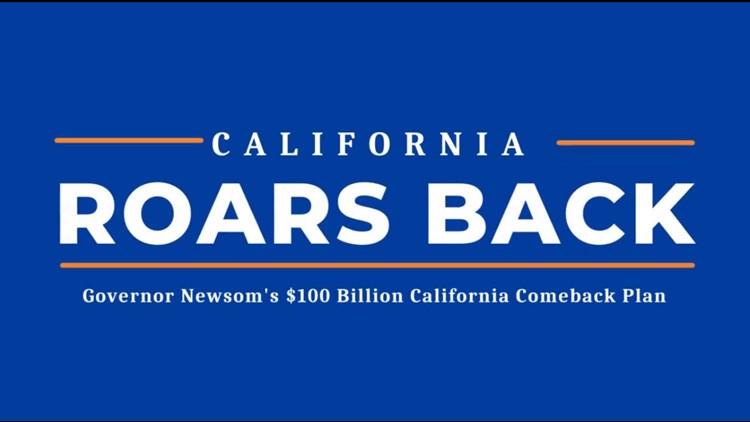 More Golden State Stimulus checks, rent relief announced in Newsom's $100 billion 'California Comeback Plan'