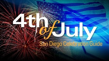 4th of July celebrations around San Diego