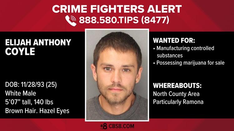 Manhunt Elijah Anthony Coyle