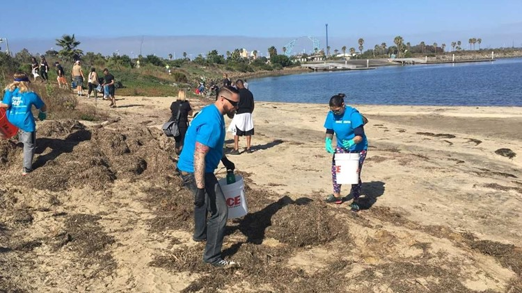 Volunteer to clean up San Diego beaches for Coastal Cleanup Day 2021