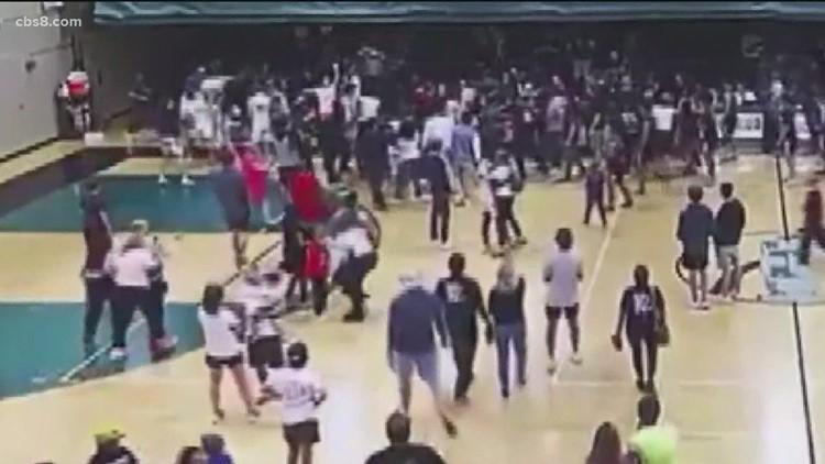 CIF probing 'racist' tortilla throwing at Coronado-Orange Glen HS basketball game