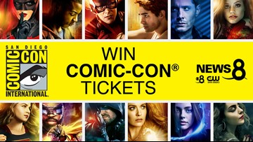 Watch and win passes to San Diego Comic-Con International