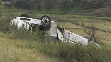 Authorities ID 2 of 3 women killed in bus crash on I-15 in Pala Mesa