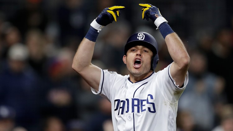 Many Padres fans left miffed after outburst following Ian Kinsler's monster homerun