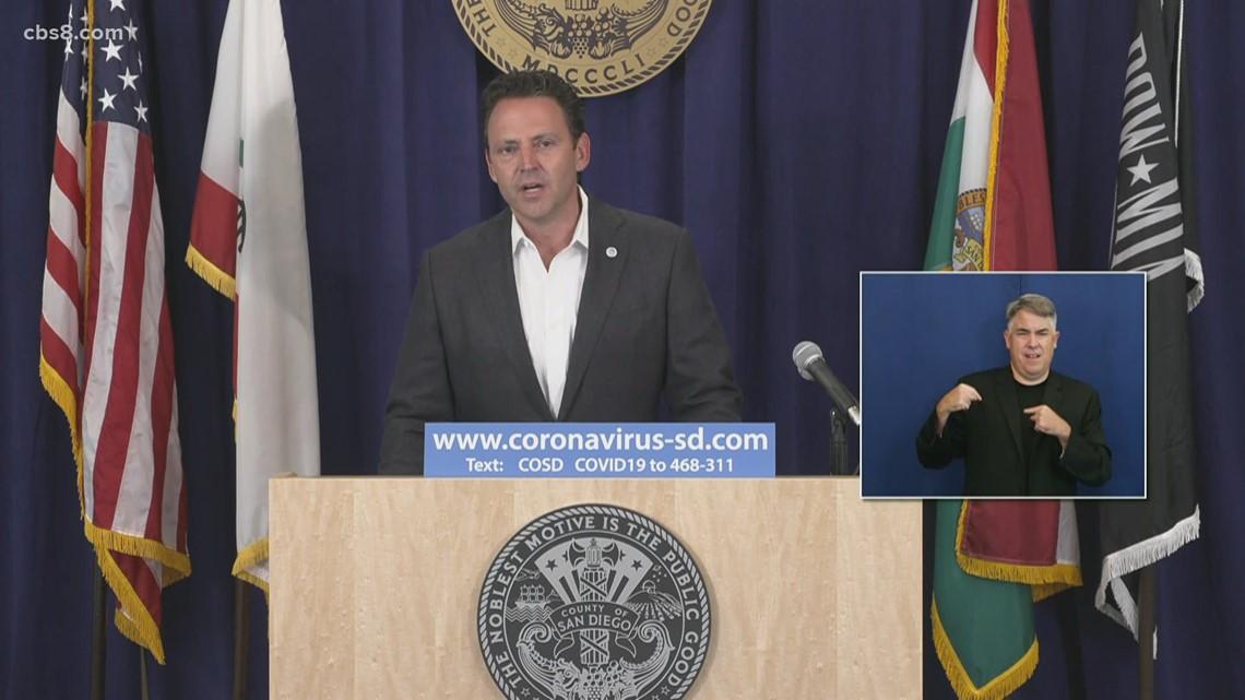 San Diego County final COVID-19 briefing