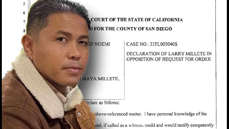 Husband of missing mother, Maya Millete, files response in family court