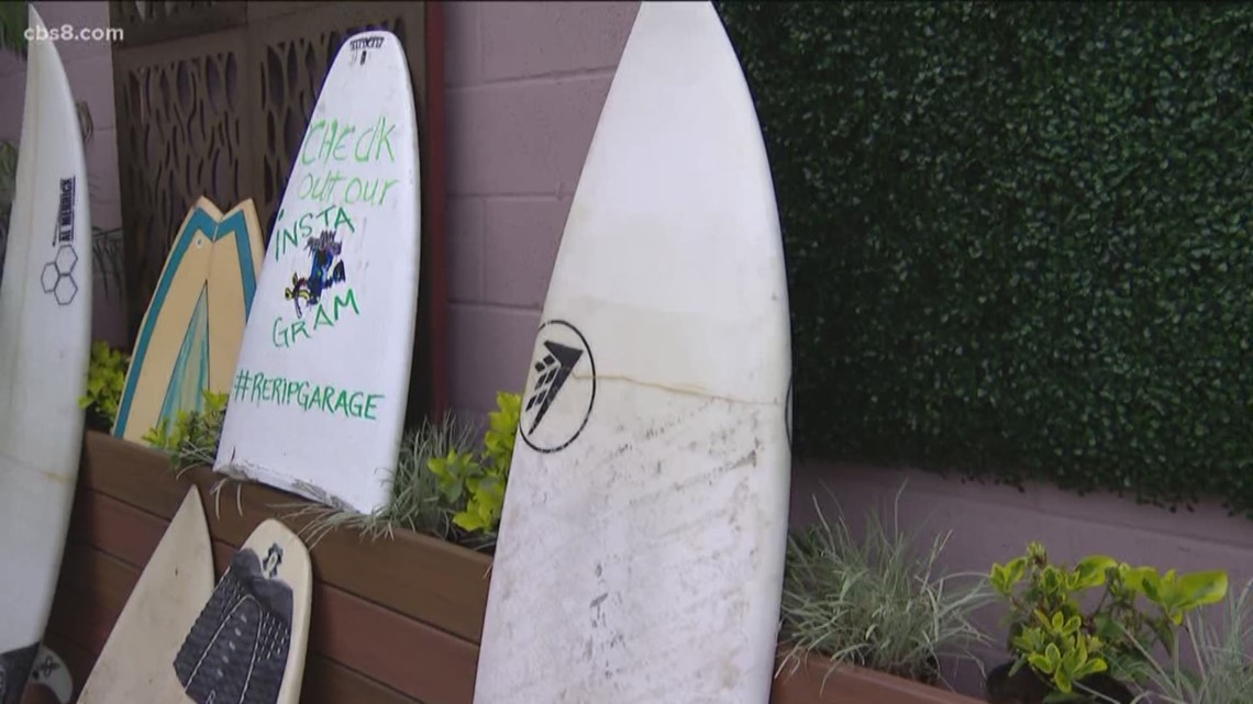 ArtWalk San Diego features recycling surfboards