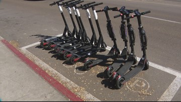 Your Stories: Scooter corrals causing problems for San Diego street sweepers