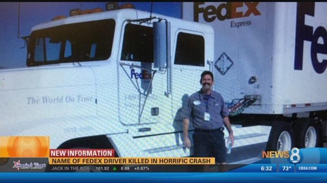 FedEx driver killed in crash on SR 905 identified