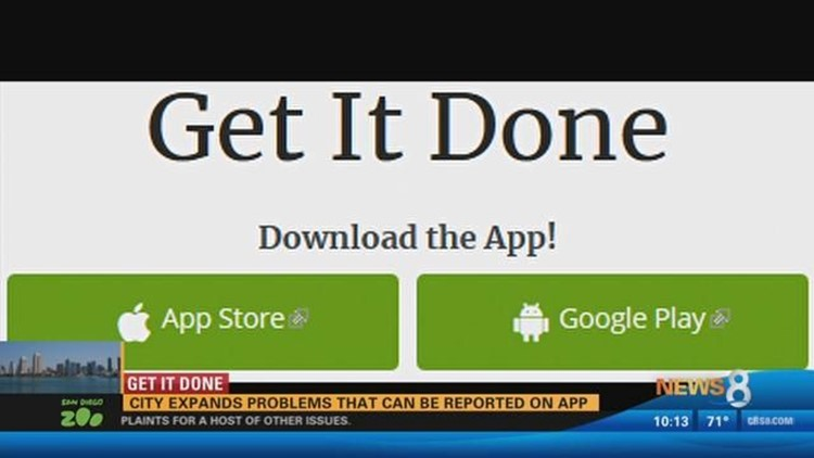 Get It Done: City expands problems that can be reported on app