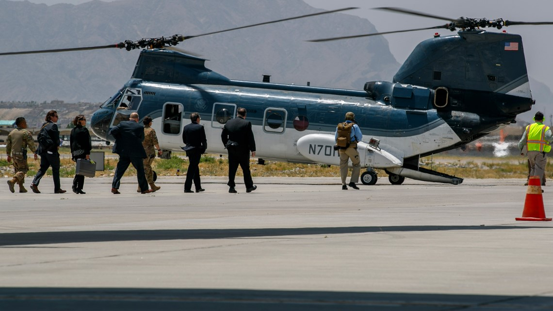 US military says 2 service members have been killed in Afghanistan
