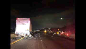 Deadly crash prompts closure of North County freeway | cbs8 com