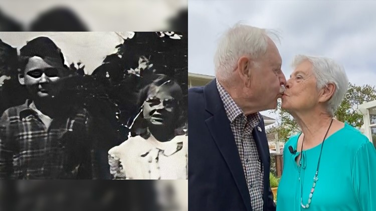 Senior Sweethearts: Grade school friends find love during COVID and decide to get married