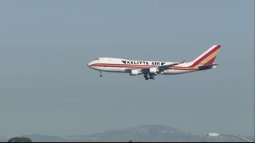 2nd flight of China evacuees arrives at MCAS Miramar