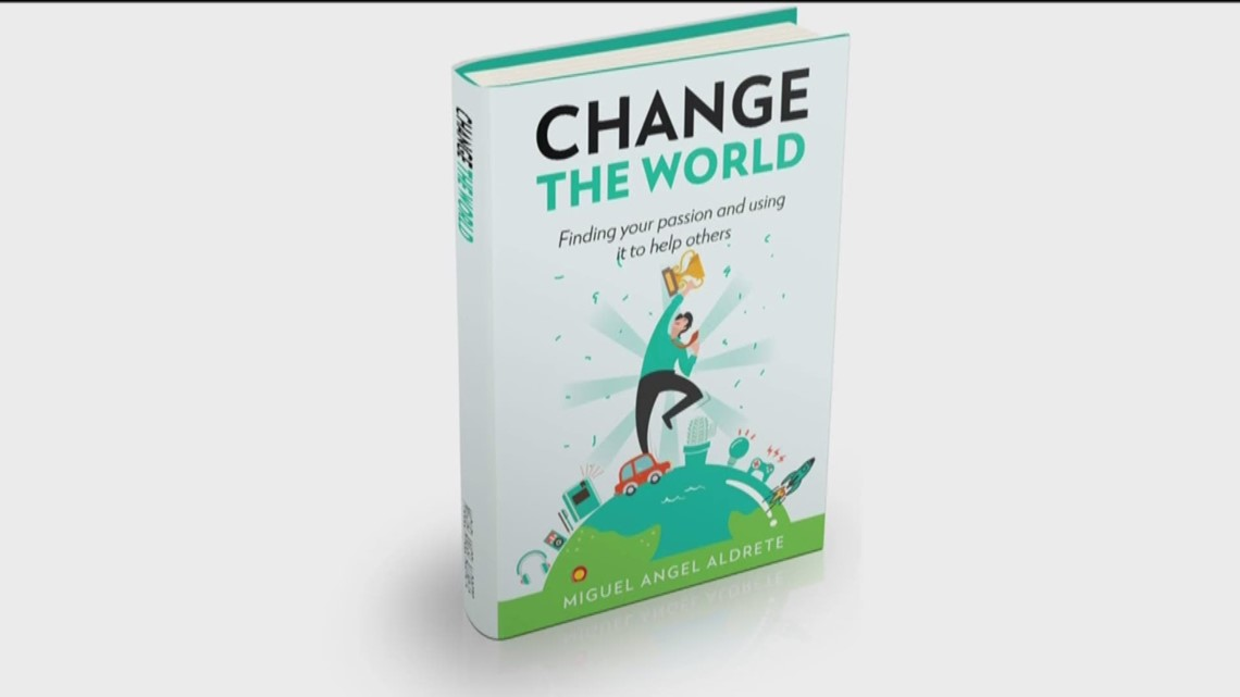 'Change the World' book helps to find your passion and use it to help others
