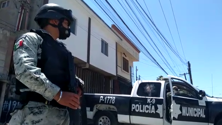 Drug tunnel discovered in Tijuana