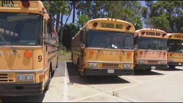 Earth 8: Electric buses for La Mesa Spring-Valley School District
