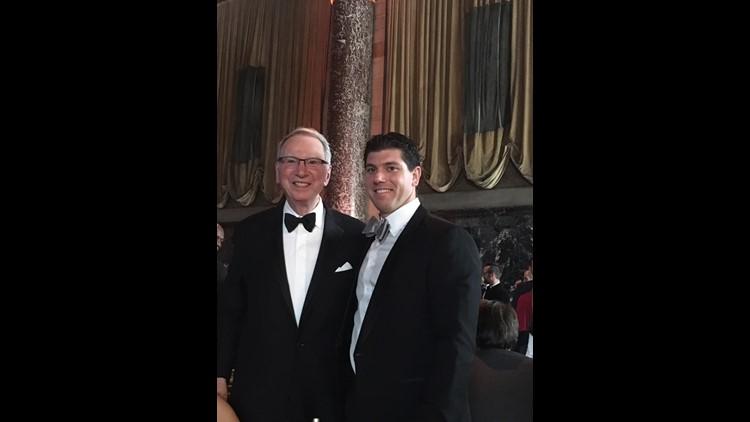 Grandfather and grandson bond