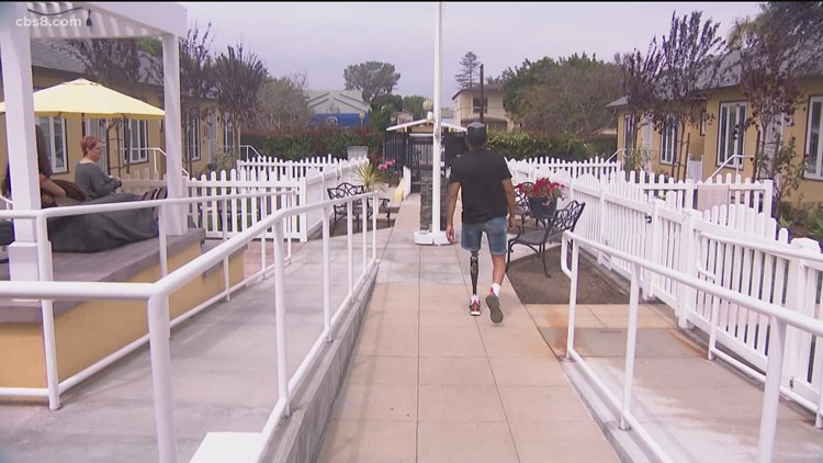 Veterans healing together at the Freedom Station in San Diego
