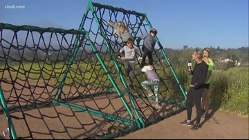Help your kids learn persistence and confidence through an obstacle course challenge in Escondido