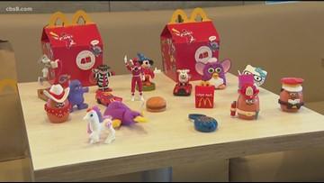 McDonald's celebrates 40 years of its Happy Meals