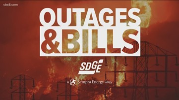 SDG&E customers questioning usage charges during power outages