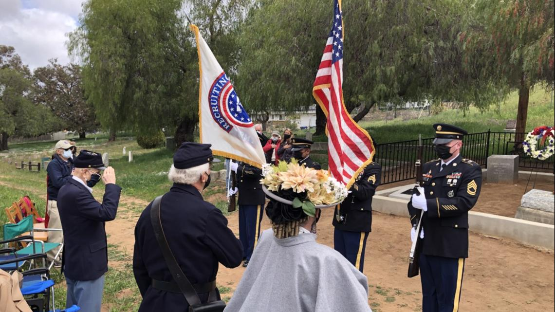 Grave of 'Civil War Hero' receives new life in Fallbrook