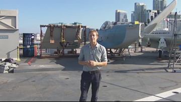 'They don't exist – except this one' | USS Midway's newest addition is one-of-a-kind military plane