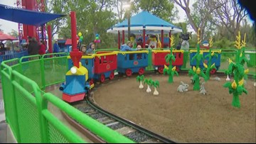 Legoland holds grand re-opening for Duplo Playtown