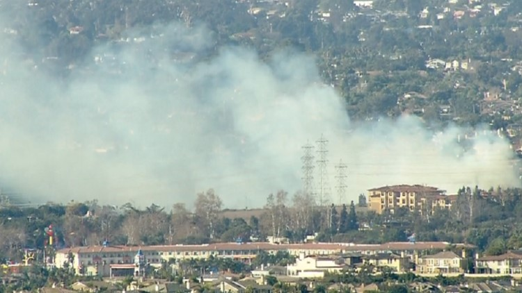 Transient arrested on suspicion of intentionally sparking Carlsbad brush fire