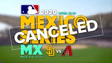 Padres series in Mexico City canceled due to delay of 2020 season