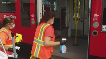 MTS keeping buses especially clean amid coronavirus concerns